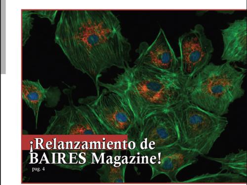 Relanzamiento de BAIRES Magazine: La Revista de Baires