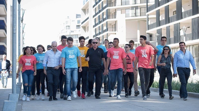 Larreta lanzó el Tour de la Antorcha Olímpica