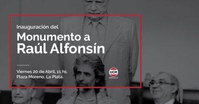 Salvador y la UCR bonaerense homenajearán a Alfonsín