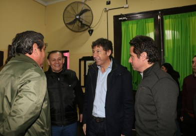 Posse y Sánchez Zinny, en el programa de nutrición en escuelas de San Isidro