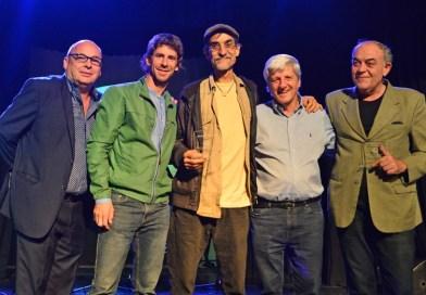 Andreotti reconoció a a artistas de  San Fernando