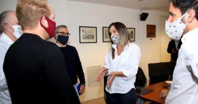 Tras reunión con Galmarini, Ciudad se comprometió a hacer obras en el Barrio 31