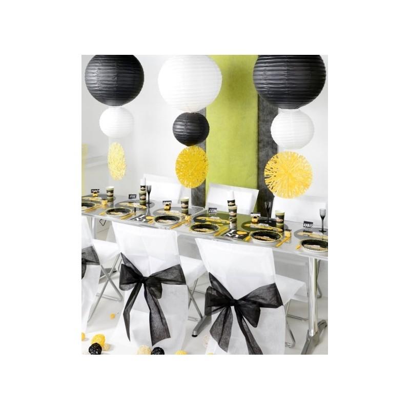 Set De Table Raphia Rond 34 Cm Les 4