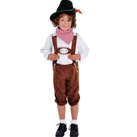 Dguisement Pantalon Tyrolien Enfant Luxe