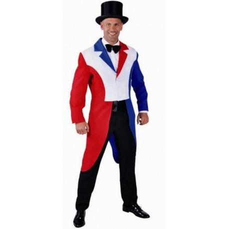 deguisement queue de pie rouge blanc bleu homme luxe baiskadreams com