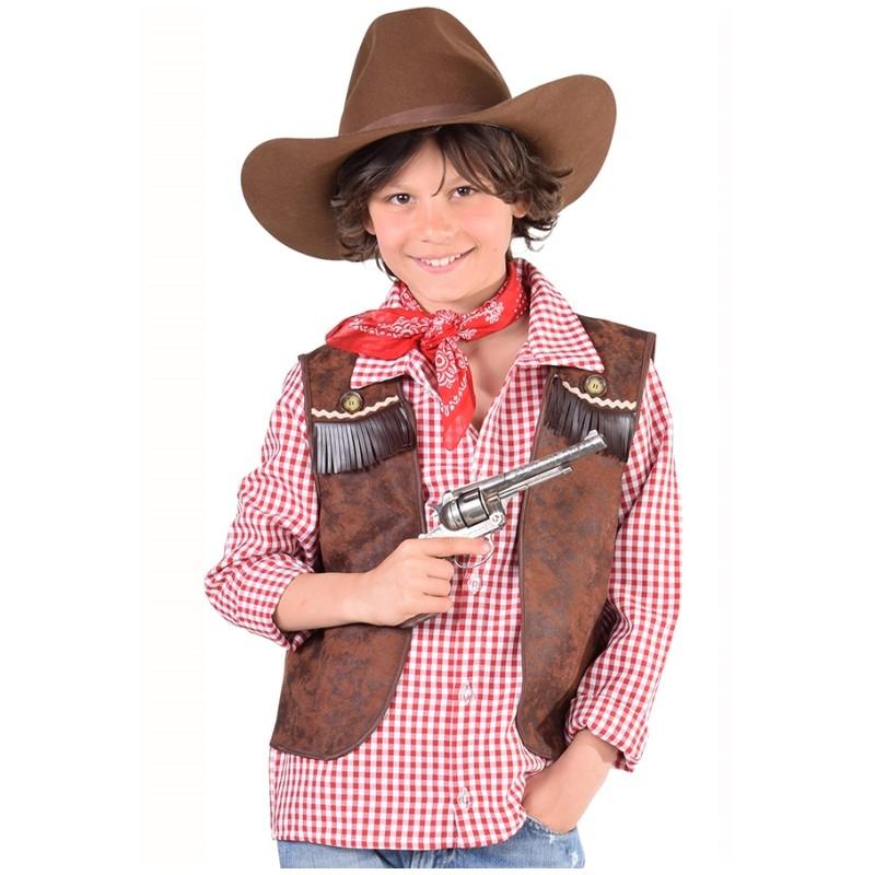 Dguisement Gilet Cowboy Garon Luxe