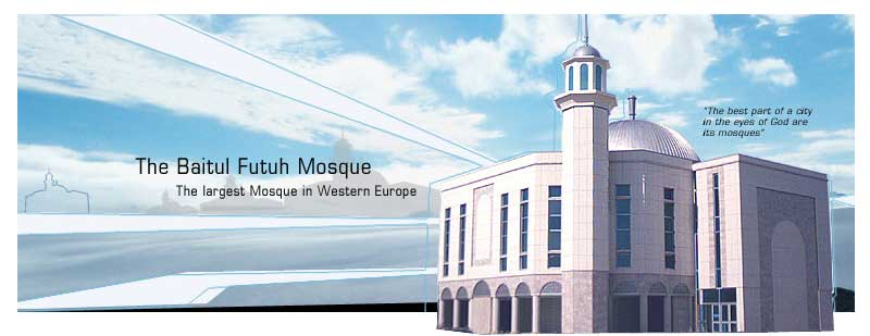 Image result for the baitul futuh mosque