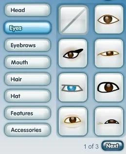 Escolha os olhos