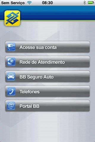 Aplicativo do Banco do Brasil para iPhone