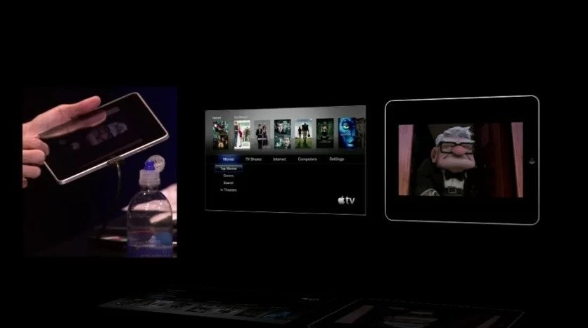 Do iOS para qualquer Mac ou Apple TV.