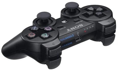 Muito semelhante ao controle do PS2