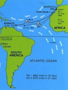 Thor Heyerdahl's Ra Expeditions from The Kon-Tiki Museum - Norway