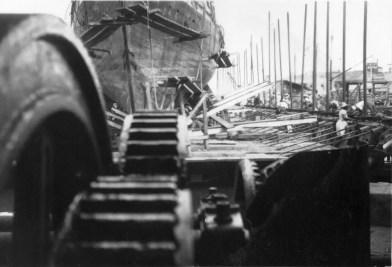 Barbados Blackwood Screwdock - a lost Victorian marvel