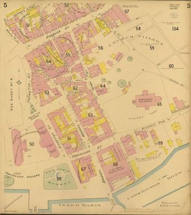 Chas. F. Goad, Civil Engineer; London - Bridgetown and Suburbs 1895 Sheet 5 of 6British Library