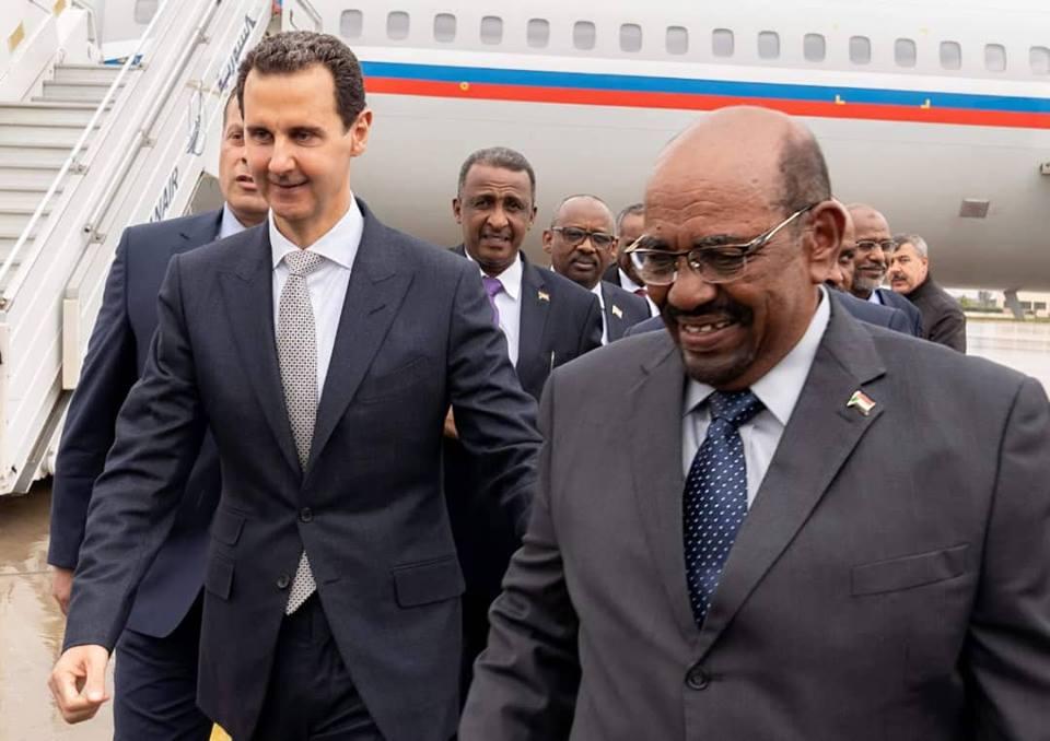 البشير يزور سوريا ويلتقي بشار الأسد