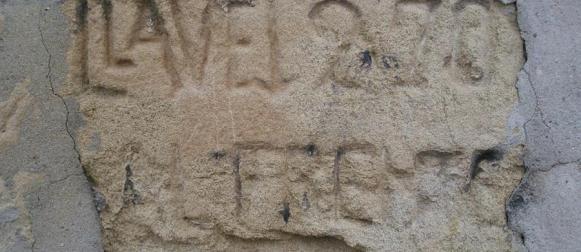 Caspe desconocido y oculto: resuelto el misterio del muro de la Rosaleda