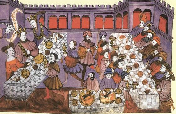 El banquete medieval - El AgitadorEl Agitador