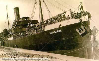 Resultado de imagen de puerto de alicante el 31 de marzo de 1939
