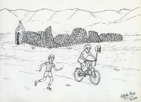 Dibuix fossar by Estela Rius
