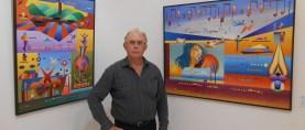 """Joaquín Ferrer (Feguars): """"Pintura y música forman una mezcla excepcional"""""""