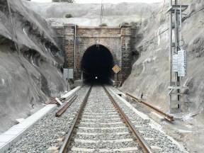 tunel Val de Pilas lado Este en la actualidad