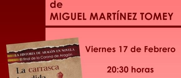 """Presentación del libro """"La carrasca hendida"""", de Miguel Martínez Tomey"""