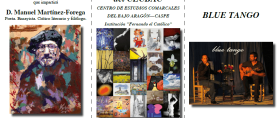 Arte, poesía y música se unen en Caspe de la mano del CECBAC