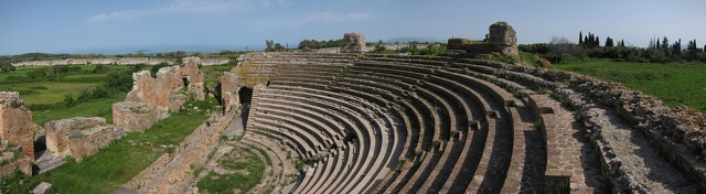 The Nikopolis Ampitheatre, Greece (Photo credit: www.landmark.com.gr)
