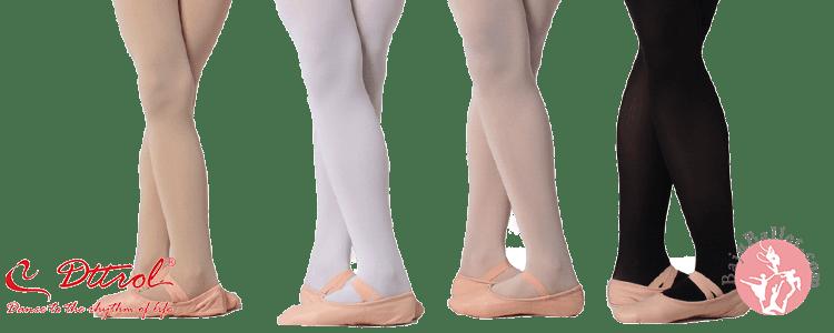 perlengkapan ballet tights & shoes