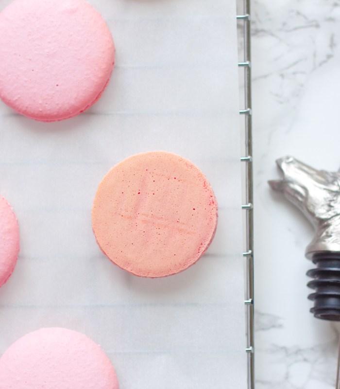 How to make macaron shells