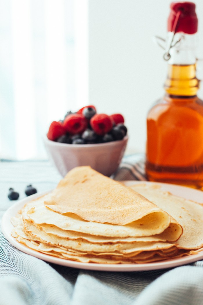 Crepes (Ukrainian blini)