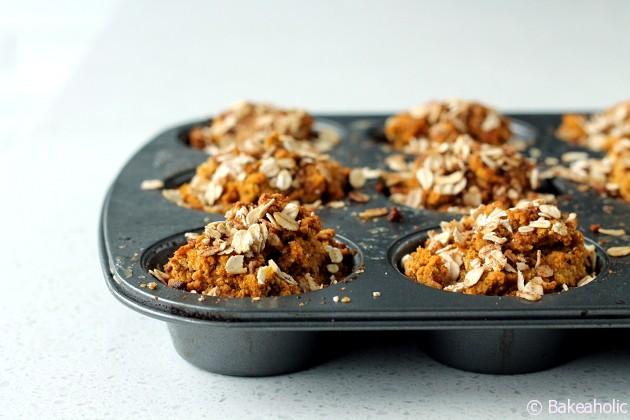 pumpkin muffinsas