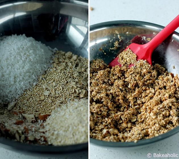 Quinoa Bars // bakeaholic.ca