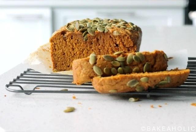 pumpkin loaf bakeaholic.ca