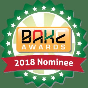 BAKE Awards 2018 Nomination Badge