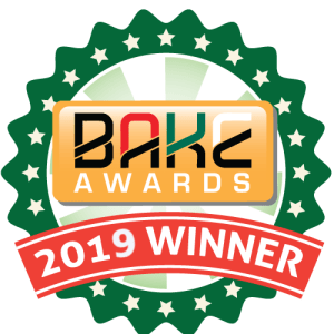 BAKE Awards 2019 Winners Badge