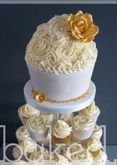 Large Buttercream Flowers