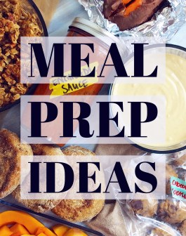 Meal Prep Ideas 1