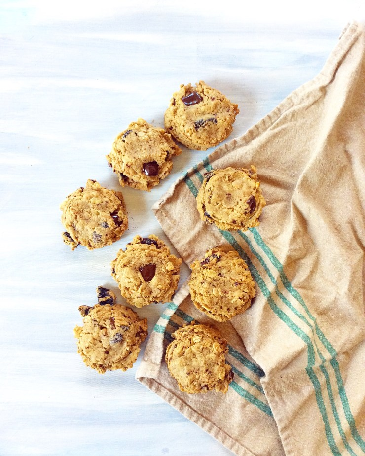 Cashew Butter Breakfast Cookies