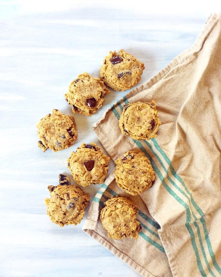 Cashew Butter Breakfast Cookies
