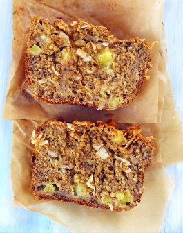 Pineapple & Coconut Banana Bread