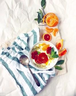 Citrus & Ricotta Breakfast Bowls