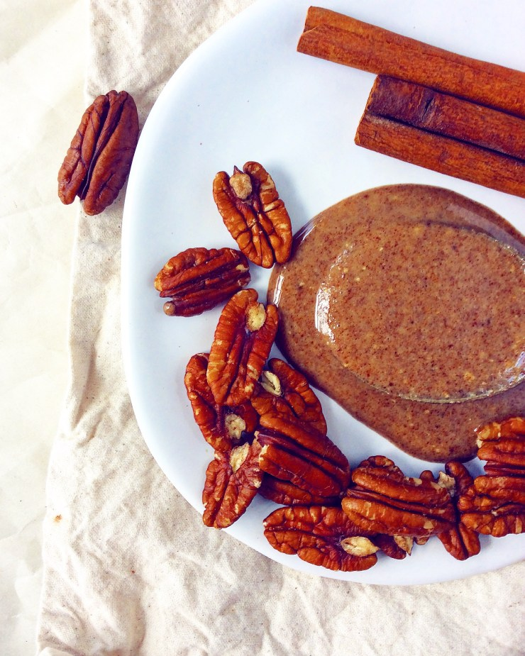 Salted Maple Pecan Butter