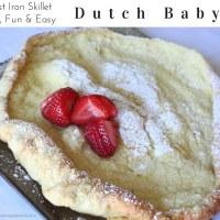 Dutch Baby German Skillet Pancake