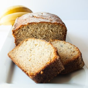 Super Moist Banana Bread Recipe at Delectable, www.delectablecookingandbaking.com