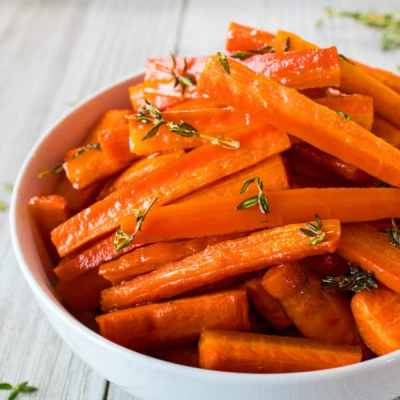 Honey and Herb Oven Roasted Carrots Recipe