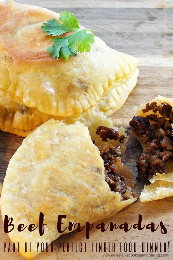 Oven Baked Beef Empanadas, www.bakeitwithlove.com
