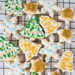 Rolled, chilled, and cut out sugar cookies from our favorite tried and true Vintage Betty Crocker Traditional Rolled Sugar Cookies