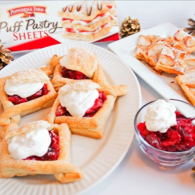 Easy Puff Pastry Treats for Holiday Entertaining!