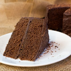 Super rich and easy to make, our Fudge Cake with Fudge Frosting is a classic family favorite treat!
